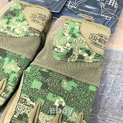 2 Helikon-Tex Range Tactical Gloves, PenCott WildWood Coyote Mens Medium
