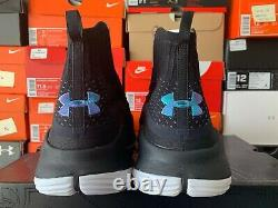 2018 Under Armour Curry 4 IV More Range Size 13 Black Stealth Grey 1298306-014