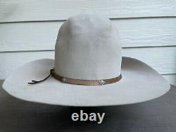 4X Vintage Antique Stetson Rugged Old West Cowboy Hat 7 Rodeo Open Range 56cm