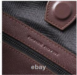 $500 NWT Land Rover/Range Rover Burghundy Leather Tote Bag