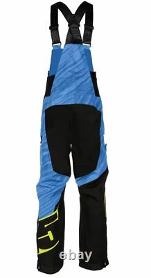 509 Men's Range Insulated Bibs Black and blue large