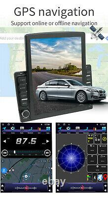 9.7in Touch Screen Bluetooth Car Stereo Radio GPS/WIFI/Hands Free Player Kits