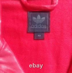 Adidas Originals Range CHILE62 from 2010 wet look tracksuit top jacket