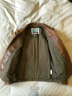 Aero Leather Premier Range Half Belt FQHH Horsehide 36 Small Jacket