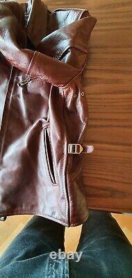 Aero Premier Range 1930s Half Belt horsehide jacket