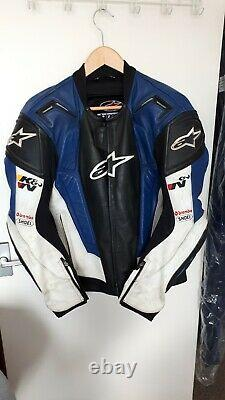 Alpinestars top range Leather motorcycle jacket mens 44 chest. Sought after