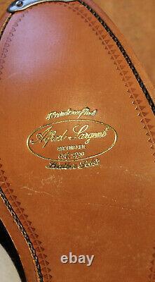 BNWB Alfred Sargent Harewood Premier Range Tan Derbys UK 7.5FX