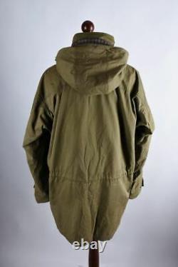 Barbour Northumberland Range Classic Hooded Jacket Size XL