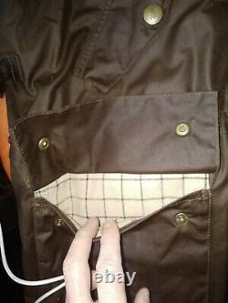 Barbour Rare Retail Range Wax Sedgemoor Coat Parka Jacket M L EUC Unique Duster