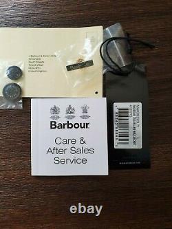 Barbour X Range Rover Land Rover Men's Waxed Cotton Jacket Traveler Large RARE