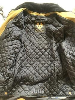Belstaff trialmaster Jacket Pure Motorcycle Range Woodland Green S Fits Like A M