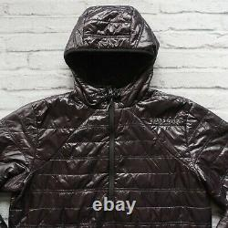 Brooks Range Mountaineering Quilted Pullover Down Jacket Size M Puff Black