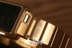 Casio i-RANGE IRW-101 Tough Solar Wave Ceptor Digital Watch Gold