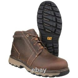 Caterpillar Parker Steel Toe Cap Safety Leather Boots CAT Catapillar 7068
