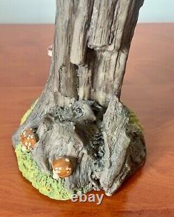 Clarecraft Bernard Pearson Vintage Tree With Hands Ornament WF02 Woodland Range