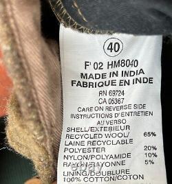 Columbia Mens Sz 40x36 Gallatin Range Wool Camo Cargo Pants HM8040
