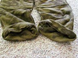 Columbia PFG Gallatin Range Wool Blend Monarch Pass Outfitter Camo Bibs Large