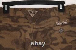 Columbia Wool Blend PHG Camo Pants Gallatin Range Monarch Pass Size 34W