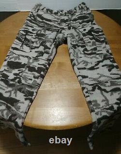 Columbia Wool Cargo Pants Men's 36 x 36 Camo Gallatin Range Monarch Pass Hunting