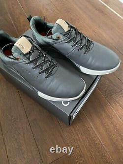 Ecco S-Three Goretex Golf Shoes Size 9 RRP £180 Worn Once At The Range Mint Con