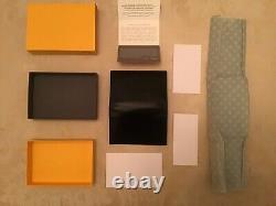 Ettinger Wallet Sterling Silver Range Visiting Card Case In Orange BNIB RRP £145