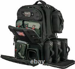 G-Outdoors, Inc. Tactical, Range Bag, Black, Soft, Tall GPS-T1913BPB