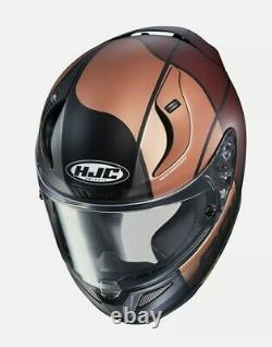 HJC RPHA 11 Quintain Full Face Motorcycle helmet Matt Gold Brown TOP OF RANGE