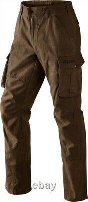 Harkila PH Range Trousers Dark Khaki Cotton Men's Country Hunting Shooting