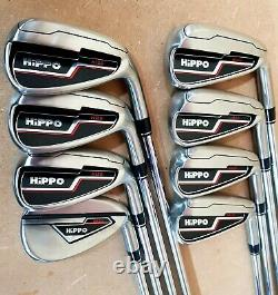 Hippo H120 Mens Rh Stiff Irons Kbs Tour C T Shaft + Lamkin Grips 2020-21 Range
