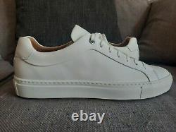 Hugo Boss Tenn White Italian Range Size 8 and 9 available. NEW. BOXED