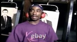 Karl Kani Jeans Vintage Purple Gun Range Signature Shirt Tupac