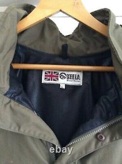 Keela Heritage range Ventile Smock Olive Green Mens Bushcraft/Camping/Fishing
