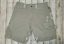 Kitanica Men's Size 38 Range USA Made Tan Cargo Shorts Pockets