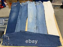 LOT OF 25 LEVI'S Denim Jeans and Shorts Modern/Vintage Wholesale