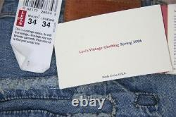 LVC Levi's LVC Big E Scorched 1947 501 # 475019101 (34x34) Spring 2006 Range
