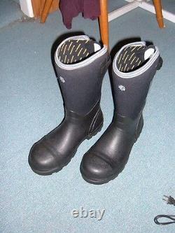 LaCrosse Alpha Range 14 Black Work Boot Men's size 10D