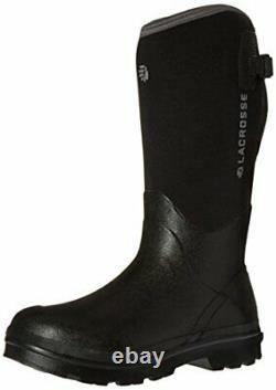 LaCrosse Men's Alpha Range 14 Work Boot Color BLACK
