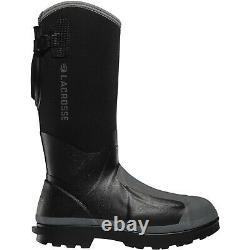 Lacrosse Men's 248310 14 Alpha Range 5MM NMT/MET/PR Black Shoes Working Boots