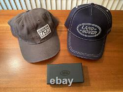 Land Rover Range Rover Defender 110 90 Baseball Cap Hat Key RING FOB Jubilee SVT