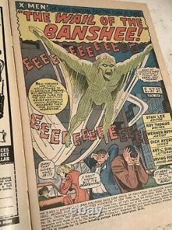 Marvel Silver Age X-Men #28-3.5/4.5 Range. 1st BANSHEE! Nice Copy, Lays Flat