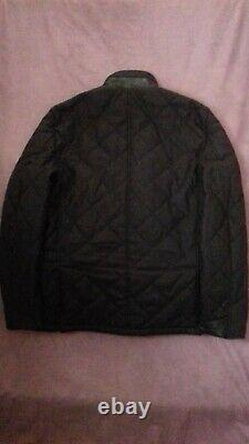 Men's Barbour Filey Quilted Jacket Land Rover Range Rover Collection Size Large