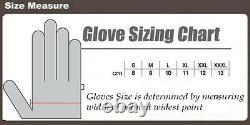 Mens Thermal Colour Range Motorbike Motorcycle Motocross Winter Textile Gloves