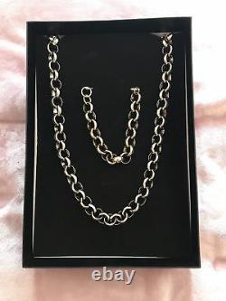 Mens boys 18k gold filled belcher chain necklace range diamond cut bling 18ct