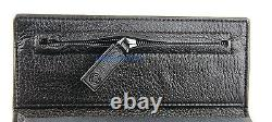 Montblanc Soft Toffee Leather Range Key Case Wallet Ring 103698 New Italy