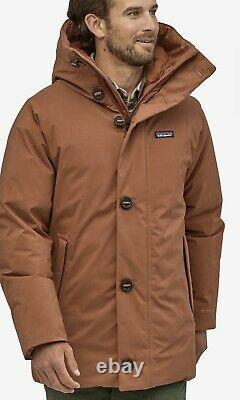 NEW Patagonia Men's Frozen Range Parka (Size XL, Color Sisu Brown) MSRP $699