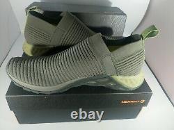 NIB Merrell Range Laceless AC+ Mens Trail Running Slip-On Sneakers Shoes Sz 12
