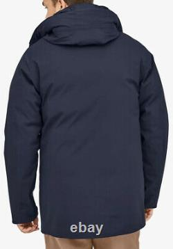 NWOTs $799 Patagonia Mens Frozen Range 3-in-1 Gore-Tex Parka. Small. New Navy