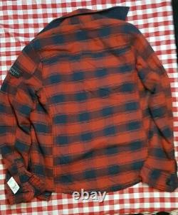 NWT NEW ABERCROMBIE & FITCH Jay Range Cardigan Sweater Men's size Small