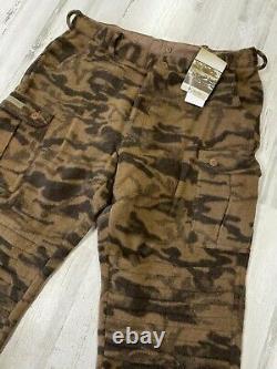 NWT Vintage Columbia Wool Gallatin Range Brown Camo Pants Size 42 Hunting
