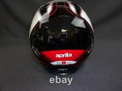 New Genuine Aprilia Helmet TOP OF THE RANGE SIZE MEDUIM 606121M03FF